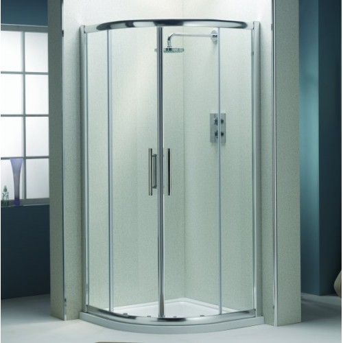 Quadrant shower enclosure qx ascent quad 8mm clearview glass protection westwood uk direct - Shower glass protection ...